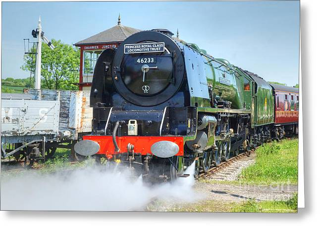 Duchess Greeting Cards - Duchess Of Sutherland Greeting Card by David Birchall
