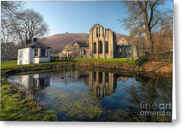 Duck Pond Greeting Card by Adrian Evans