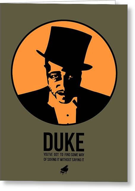 Dude Poster 3 Greeting Card by Naxart Studio