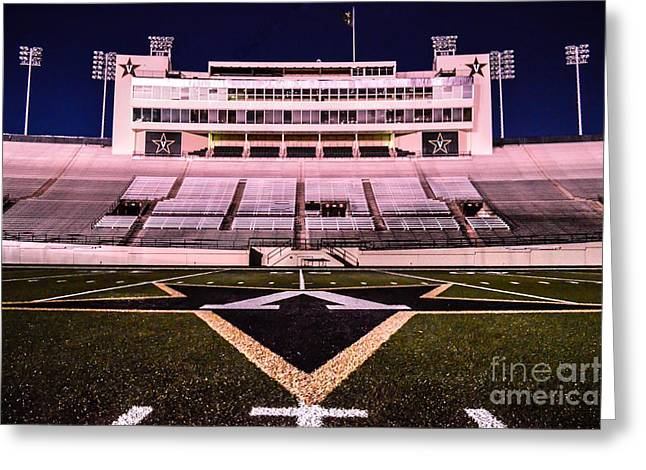 Sec Greeting Cards - Dudley Stadium Greeting Card by Debbie Green
