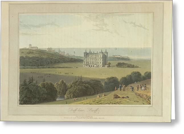 Duff House At Banff Greeting Card by British Library