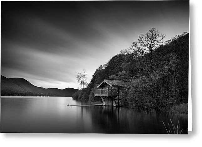 18th Century Greeting Cards - Duke of Portland Boathouse Greeting Card by Dave Bowman