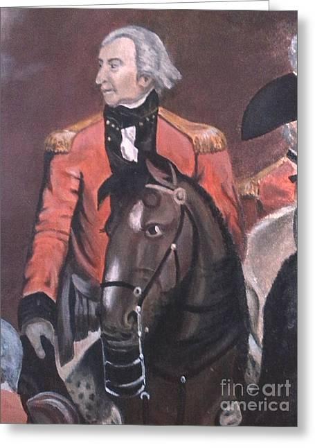 Duke Of Windsor Greeting Cards - Duke of Wellington Greeting Card by Richard John Holden
