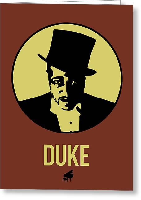 Duke Poster 1 Greeting Card by Naxart Studio