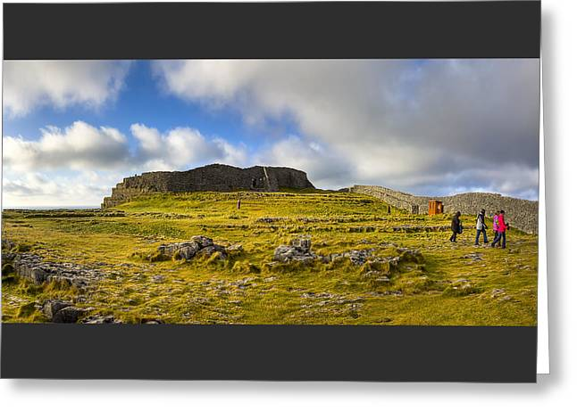 Dun Aengus - Ancient Irish History Greeting Card by Mark E Tisdale