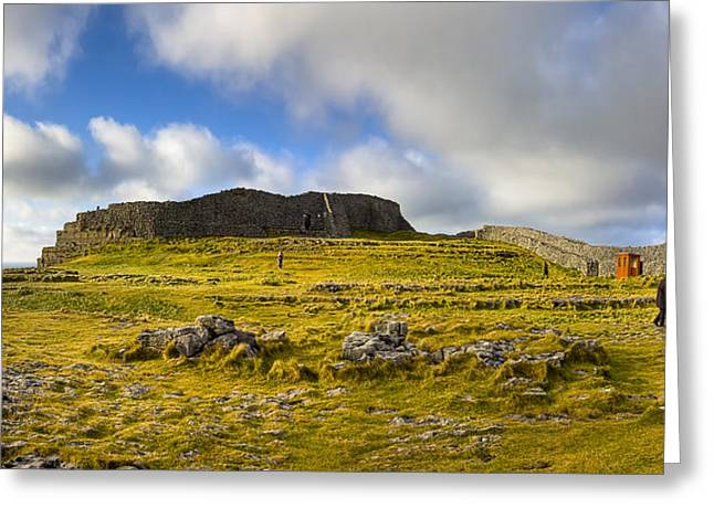 Dun Aengus - Ancient Irish History Greeting Card by Mark Tisdale
