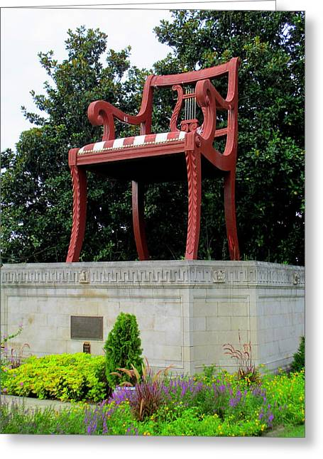 Thomasville Greeting Cards - Duncan Phyfe Chair Greeting Card by Randall Weidner