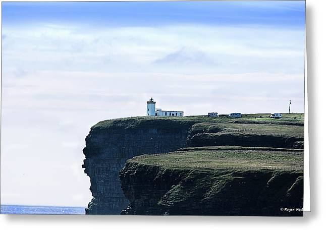 North Sea Greeting Cards - Duncansby Head Scotland Greeting Card by Roger Wedegis