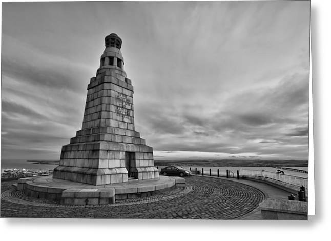 Buster Brown Greeting Cards - Dundee Law War Memorial Greeting Card by Buster Brown