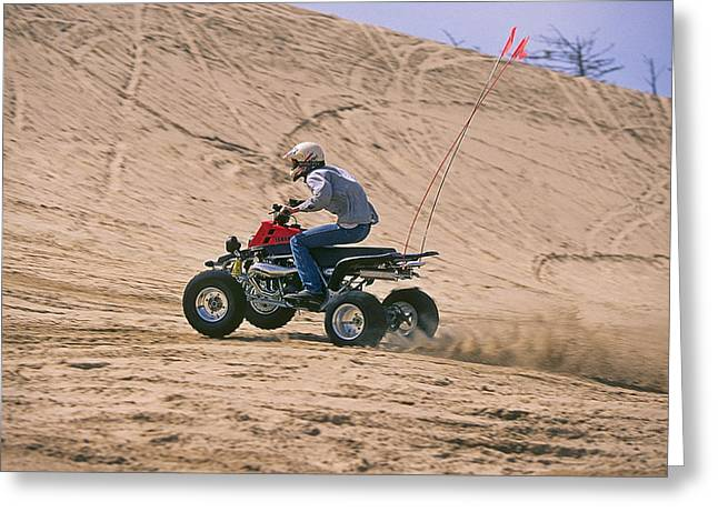 Oregon Dunes National Recreation Area Greeting Cards - Dune Buggy Greeting Card by Buddy Mays