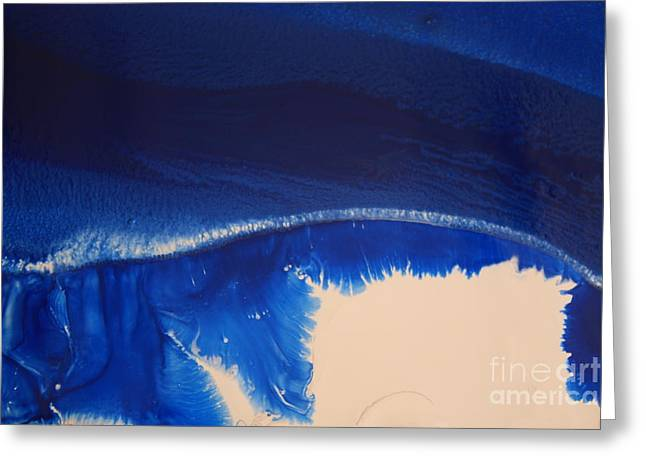 Represents The Spirit Greeting Cards - Dune Mixing Greeting Card by Lisa Payton