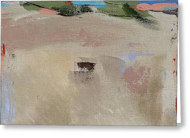 Abstract Beach Landscape Greeting Cards - Dune Privacy Greeting Card by Jacquie Gouveia