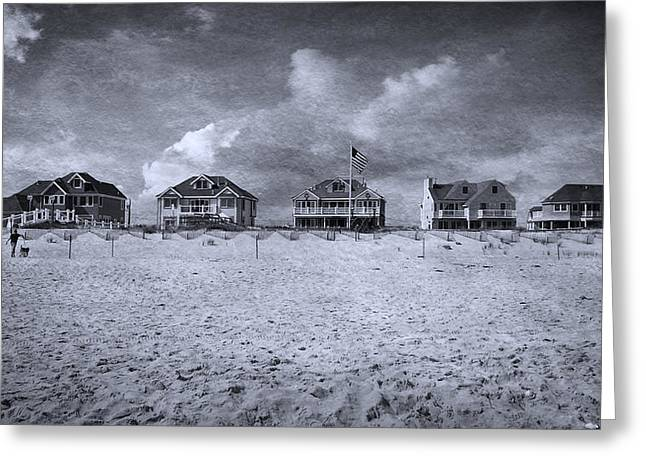 Dune Road  Greeting Card by Laura Fasulo