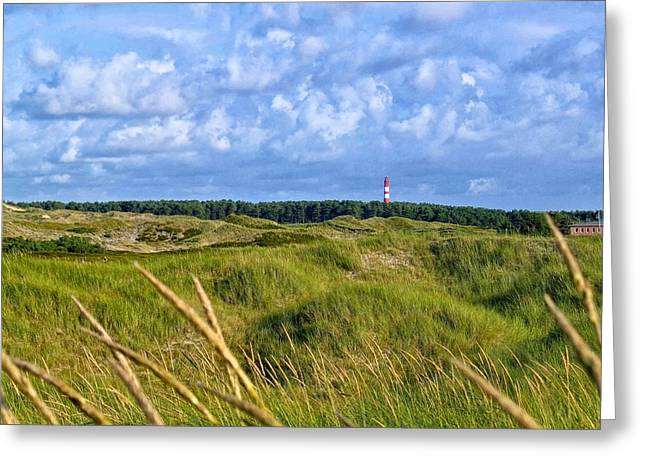 North Sea Greeting Cards - Dunes near the Baltic Sea Greeting Card by Mountain Dreams