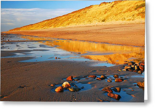 Marconi Beach Greeting Cards - Dunes of Cape Cod Greeting Card by James Kirkikis