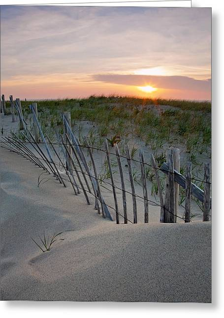 Cape Greeting Cards - Dunes of Cape Cod Greeting Card by Patrick Downey