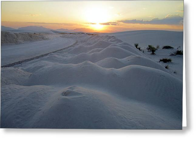 Dunes Of Mystique Greeting Card by Mike Podhorzer