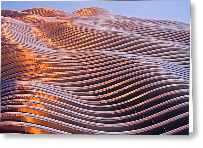 Metal Sheet Greeting Cards - Dunes Of Steel Greeting Card by Kevin Anderson