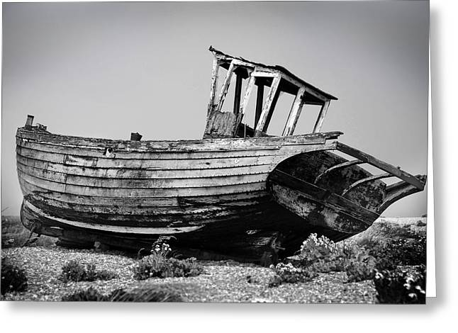 Fishing Boats Greeting Cards - Boat Two Greeting Card by Mark Rogan
