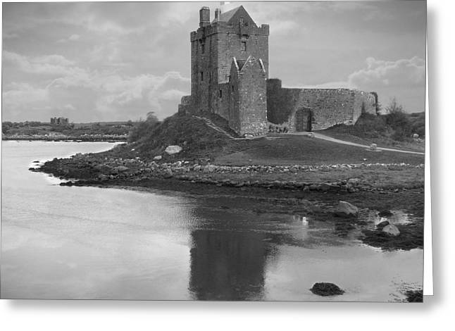 Castle Gates Greeting Cards - Dunguaire Castle - Ireland Greeting Card by Mike McGlothlen