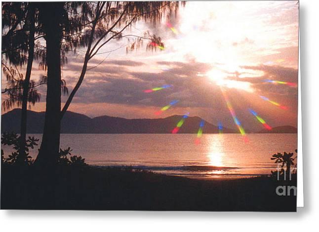 Dunk Island Australia Greeting Card by Jerome Stumphauzer