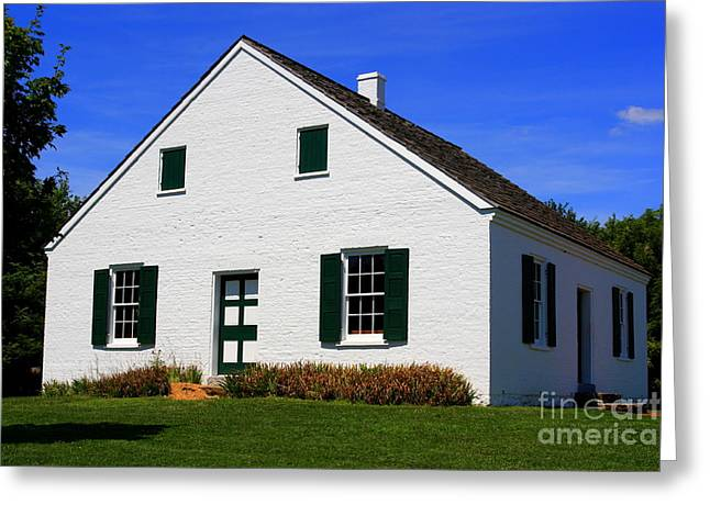 Battlefield Site Greeting Cards - Dunker Church Greeting Card by Patti Whitten
