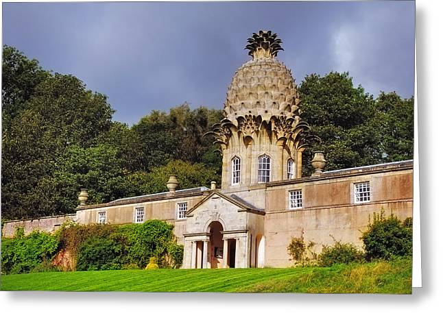 Cupola Greeting Cards - Dunmore Pineapple Greeting Card by Jenny Rainbow