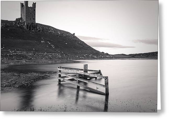 Northumberland Greeting Cards - Dunstanburgh Castle Northumberland Greeting Card by Colin and Linda McKie