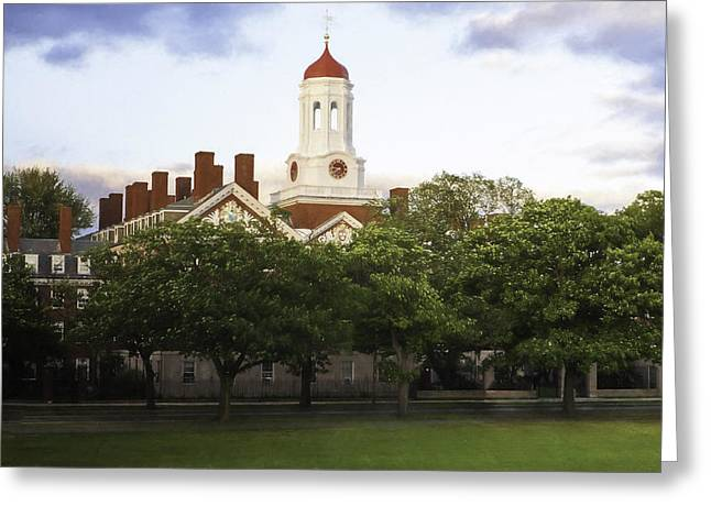 Recently Sold -  - Darren Greeting Cards - Dunster House Harvard University Greeting Card by Kate Hannon