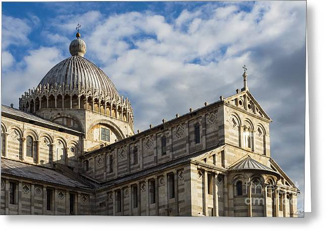 Charly Greeting Cards - Duomo of Pisa Greeting Card by Prints of Italy