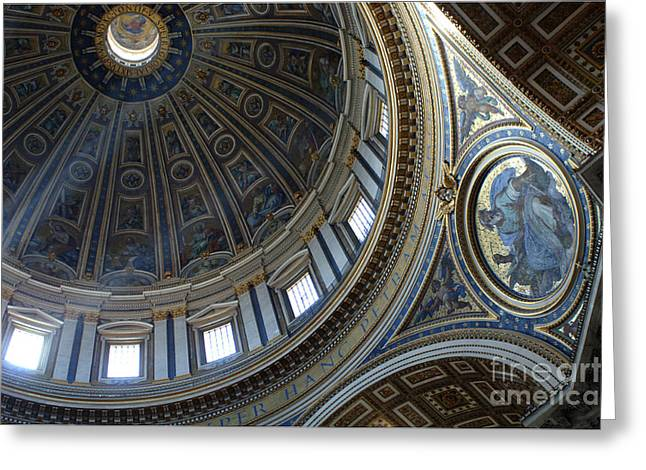 Basillica Greeting Cards - Duomo St Peters 2 Greeting Card by Bob Christopher