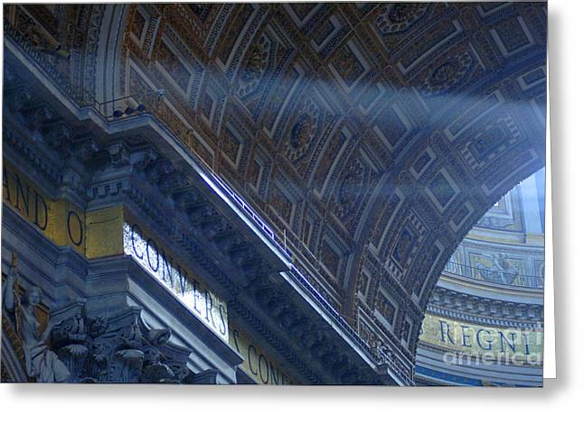 Basillica Greeting Cards - Duomo St Peters 3 Greeting Card by Bob Christopher