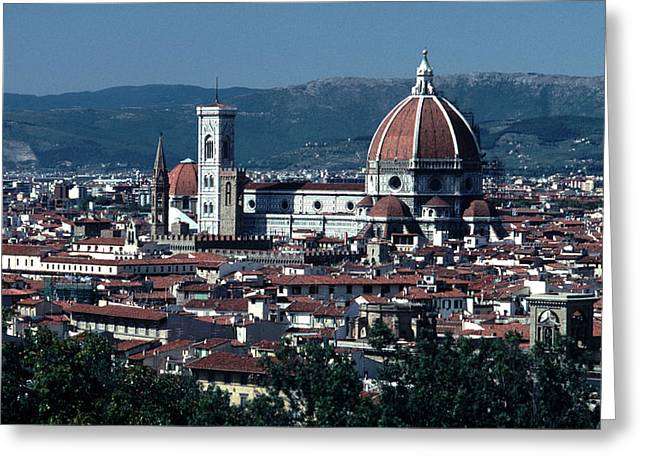 1296 Greeting Cards - Duomo  Greeting Card by Tom Wurl