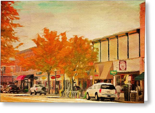 Durango Greeting Cards - Durango Autumn Greeting Card by Jeff Kolker