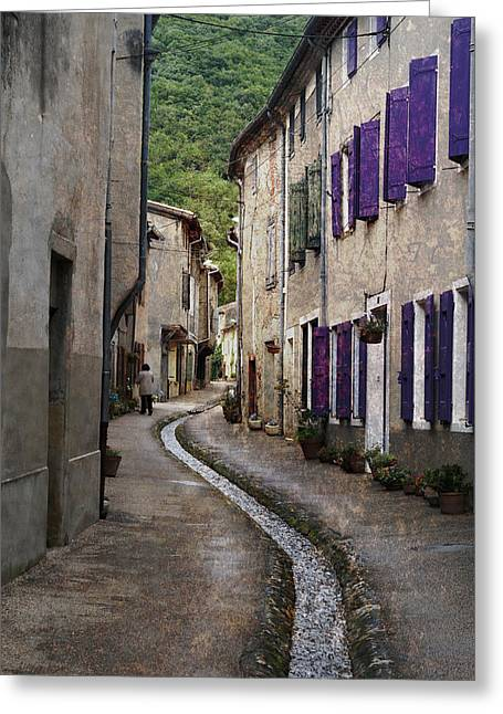 Midi Greeting Cards - Durfort France Greeting Card by Greg Kluempers