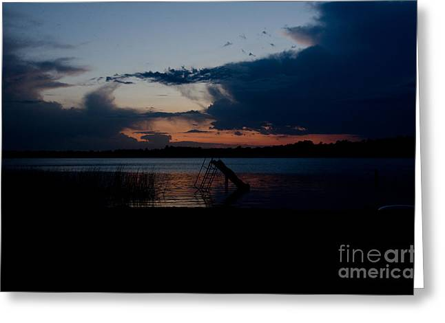 Independance Day Greeting Cards - Dusk  Greeting Card by Cassie Marie Photography