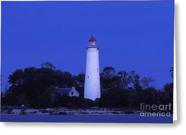 North American Inland Sea Greeting Cards - Dusk on Chantry Island - FS000820 Greeting Card by Daniel Dempster