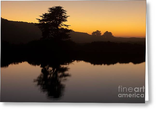 Pch Greeting Cards - Dusk on Russian River 1.7059 Greeting Card by Stephen Parker