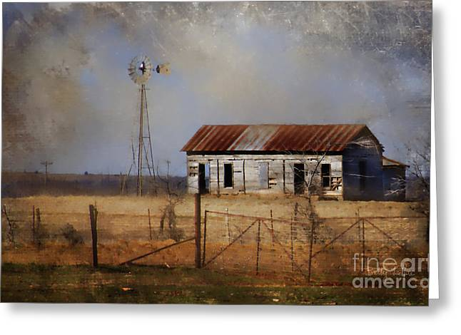 Dust In The Air Greeting Card by Betty LaRue