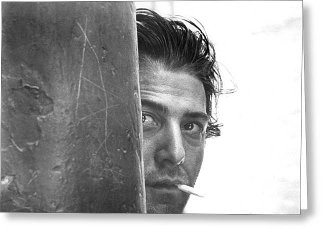 Midnight Greeting Cards - Dustin Hoffman in Midnight Cowboy  Greeting Card by Silver Screen