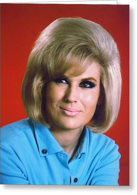 Dusty Greeting Cards - Dusty Springfield Greeting Card by Silver Screen
