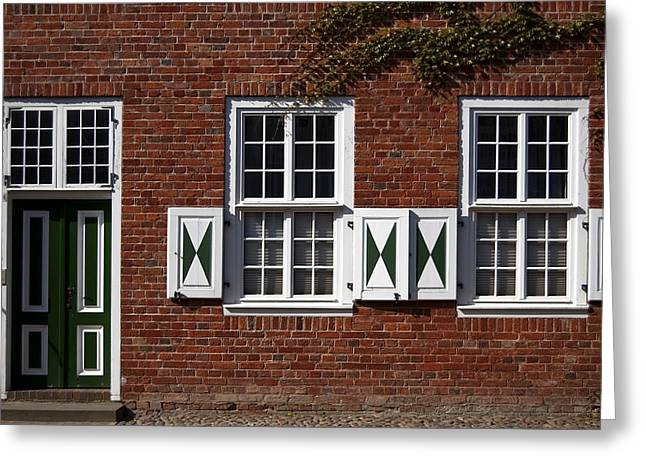 Viertel Greeting Cards - Dutch neighborhood in Potsdam Greeting Card by RicardMN Photography