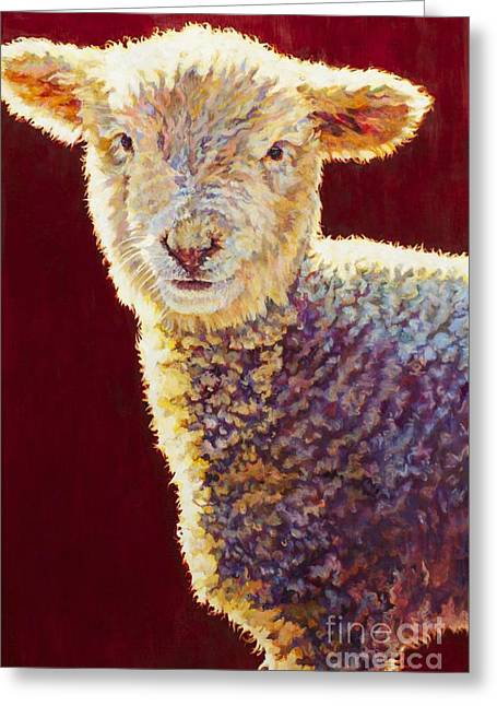 Ovine Greeting Cards - Dutch Greeting Card by Patricia A Griffin