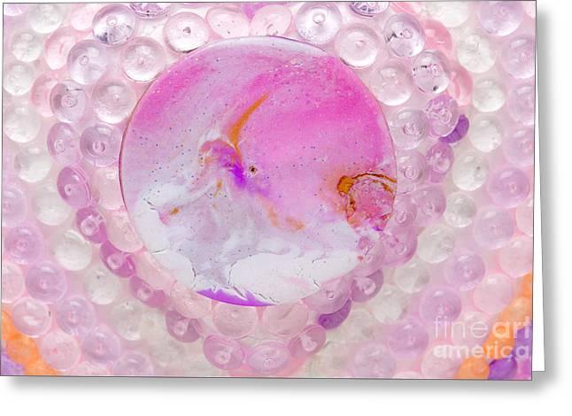 Purples Reliefs Greeting Cards - Dwarf on unicorn-dragon detail Greeting Card by Heidi Sieber