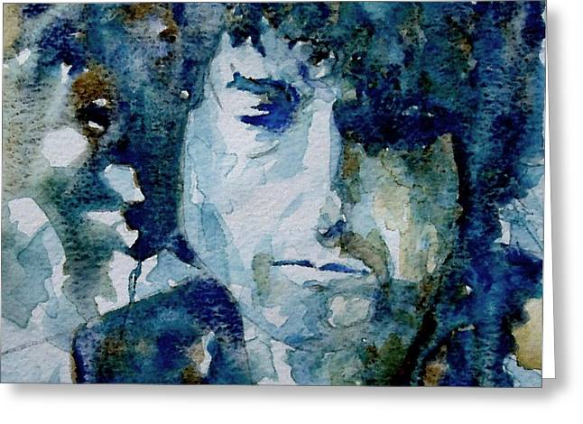 Dylan Greeting Card by Paul Lovering