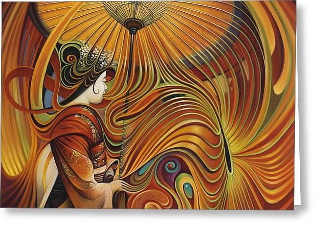 Dynamic Oriental Greeting Card by Ricardo Chavez-Mendez