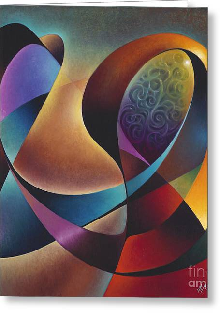 Sole Greeting Cards - Dynamic Series #13 Greeting Card by Ricardo Chavez-Mendez