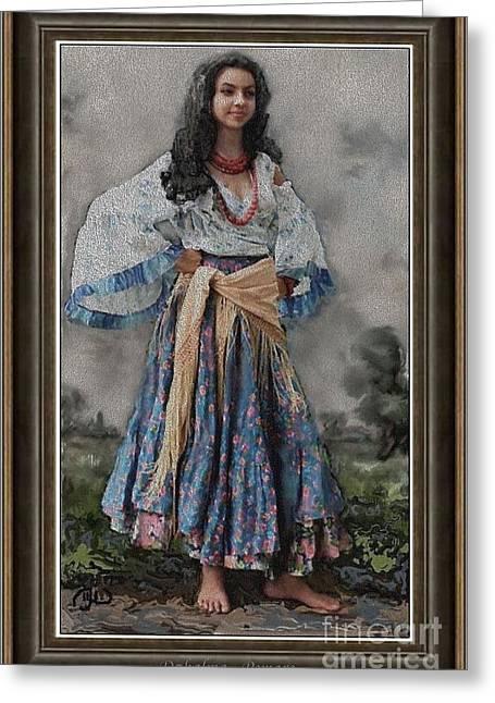 Gypsy Greeting Cards - Dzhalma D2 Greeting Card by Pemaro