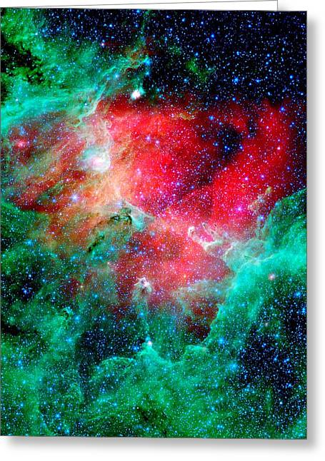 Starlet Photographs Greeting Cards - Eagle Nebula Greeting Card by Benjamin Yeager