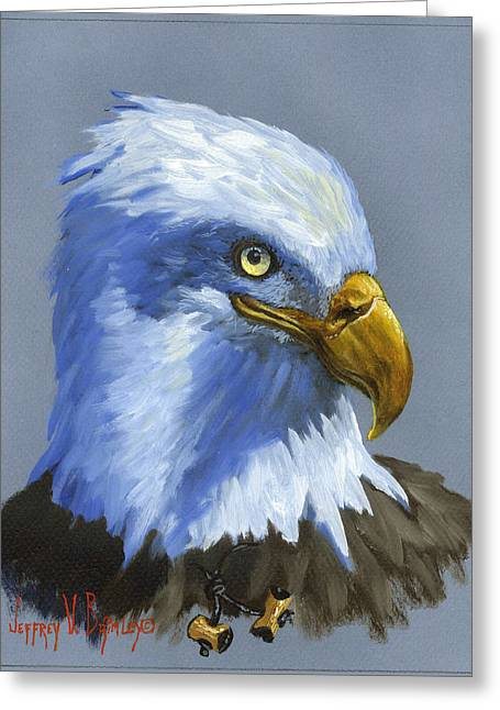 Jeff Greeting Cards - Eagle Patrol Greeting Card by Jeff Brimley
